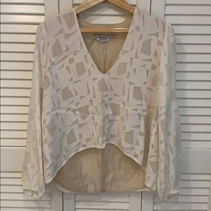 Stone Cold Fox Silk Top